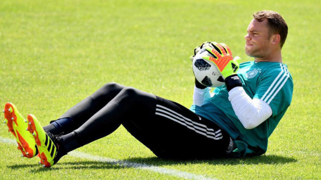 Manuel Neuer volverá a tapar con Alemania