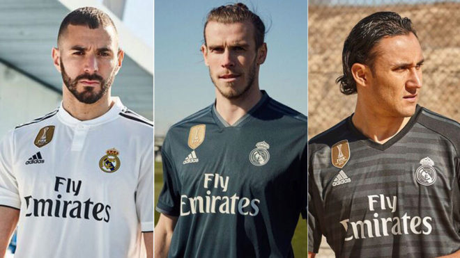 Real Madrid  Así son las nuevas camisetas del Real Madrid para la ... 9bb165aa8402e
