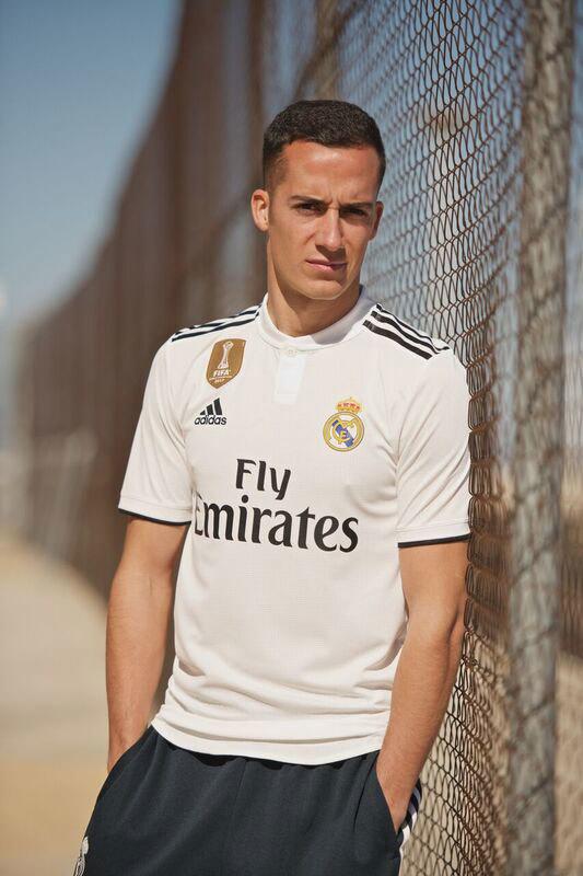 Camiseta Real Madrid L. Vázquez