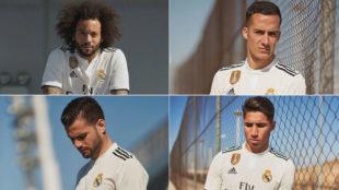 Así son las nuevas camisetas del Real Madrid 2018/19