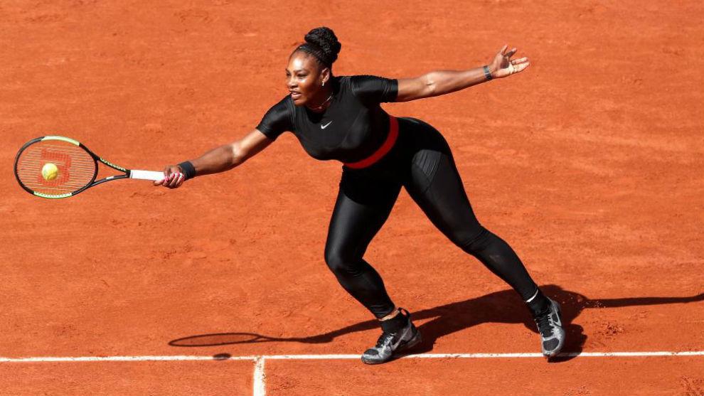 ROLAND GARROS - Serena triunfa en retorno Gran Slam
