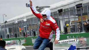 Kimi Raikkonen, en el GP de Canadá de 2016.