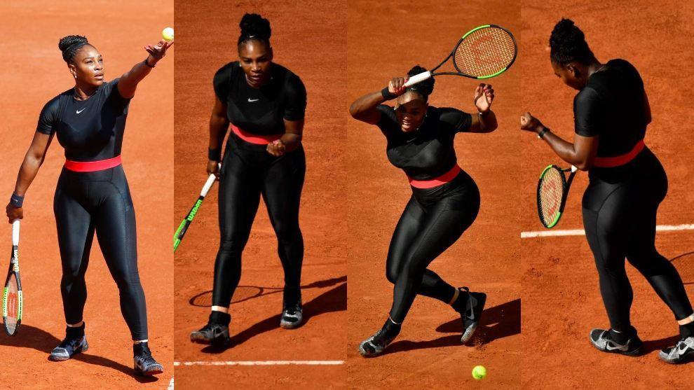 Descuidos de tenistas 4 - 5 8