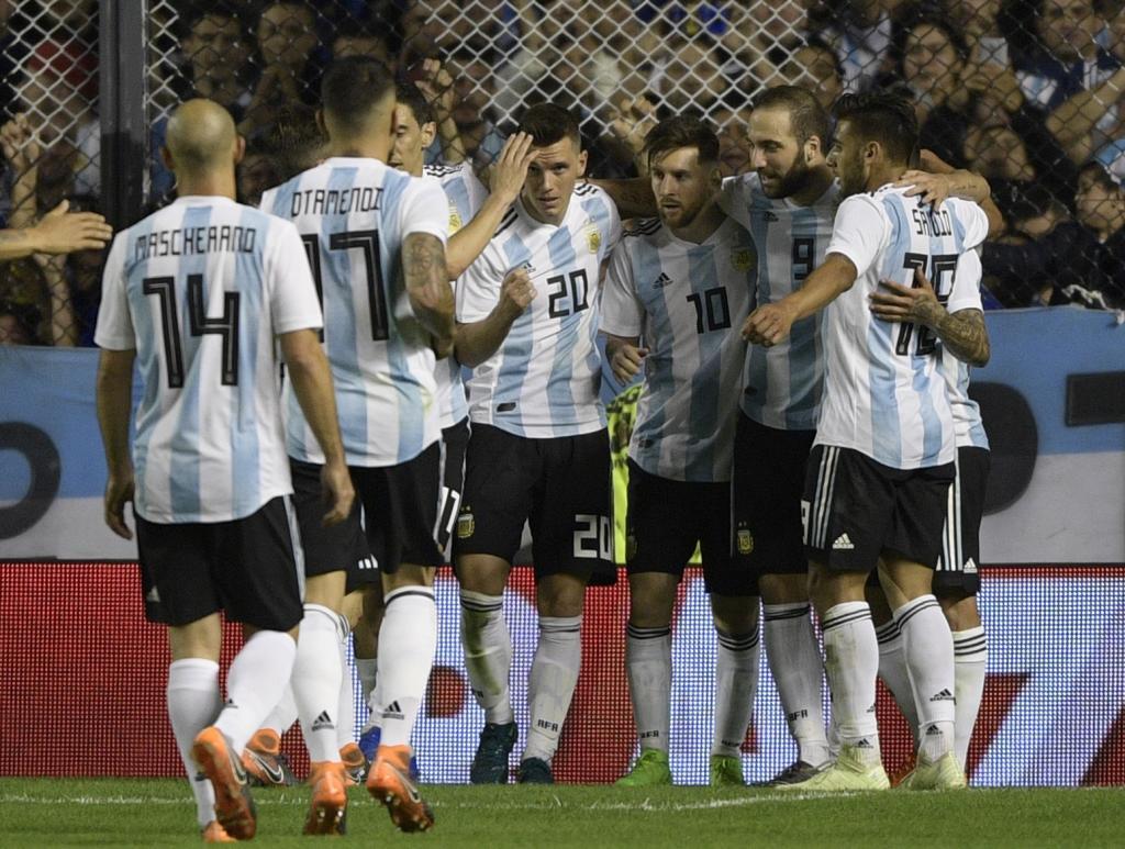 4ca60a83846f5 Argentina no parece dispuesta a hacer más daño y se marchará de Argentina  hacia el Mundial con un buen sabor de boca.