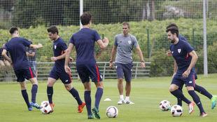 Entrenamiento del Bilbao Athletic