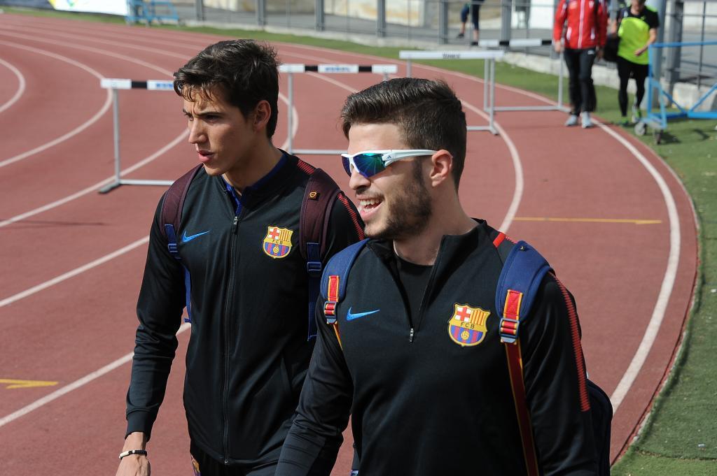 Óscar Husillos y Lucas Búa en la segunda jornada de la Liga de...