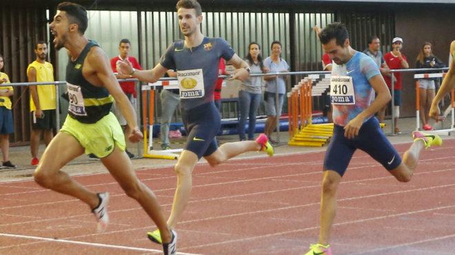 Saúl Ordóñez alcanza la meta en el Campeonato de España del pasado...