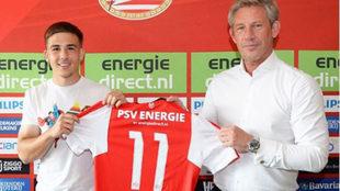 Catic usará el dorsal 11 con el PSV