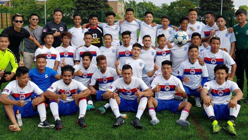La selección del Tibet que participará en la Copa del Mundo CONIFA...