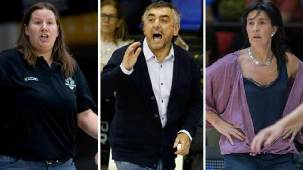 Muguruza, López y Urieta, los más 'longevos' en los banquillos FEB
