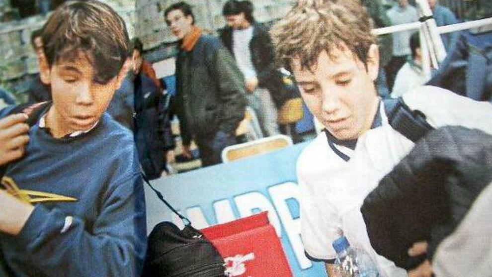 Nadal y Gasquet, en Tarbes con 13 años