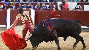 Lance la vigesimocuarta corrida de la Feria de San Isidro,