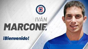 Iván Marcone se sube a La Máquina del Cruz Azul.