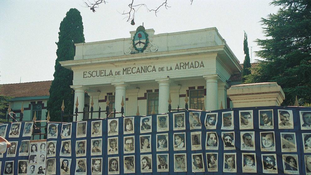 La Escuela Superior de Mecánica de la Armada (ESMA).