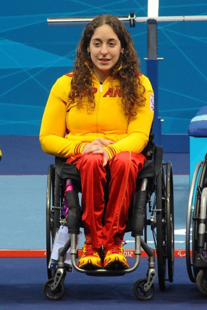 Loida Zabala, en los Juegos Paralímpicos de Río