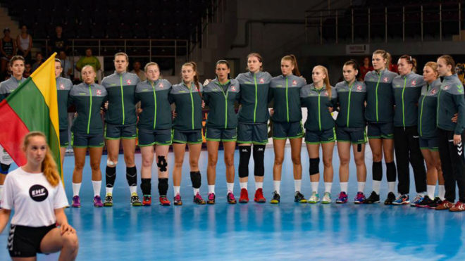 La selección lituana, rival de Espala este sábado.