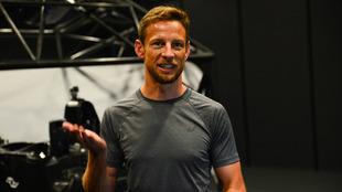 Jenson Button, tras la prueba en el simulador
