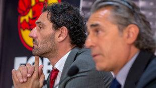 Jorge Garbajosa y Sergio Scariolo