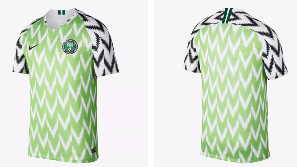 Fans go crazy for Nigeria's retro World Cup shirt