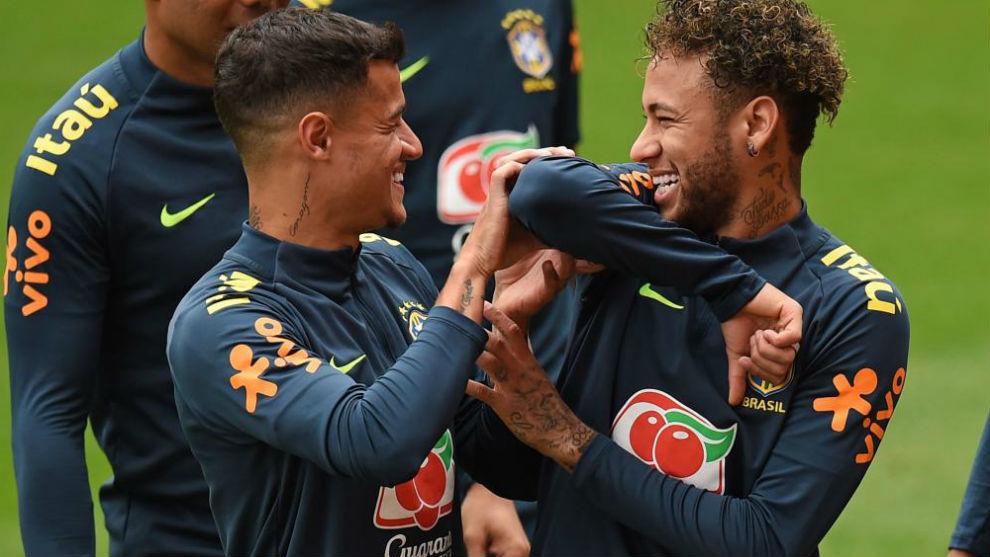 Neymar jugará con Brasil en el segundo tiempo del amistoso ante Croacia
