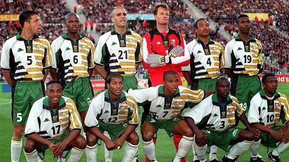 Resultado de imagen para sudafrica mundial 1998