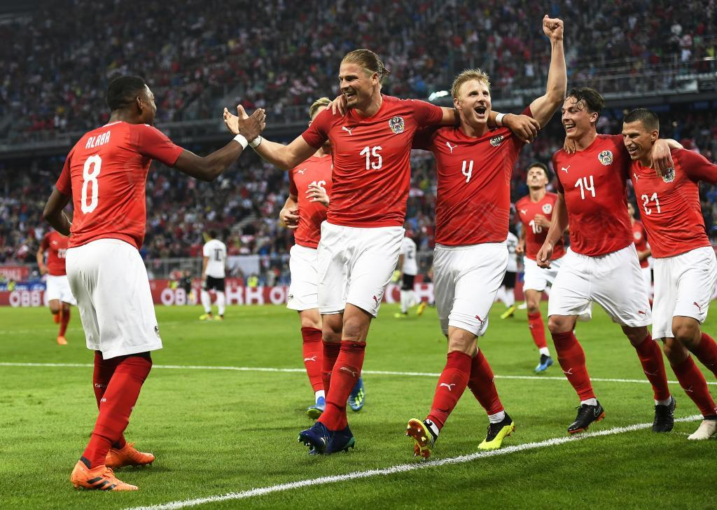 Austria vs. Germany - Football Match Report