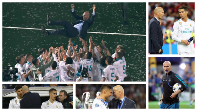 The six gifts Zidane has left for his successor