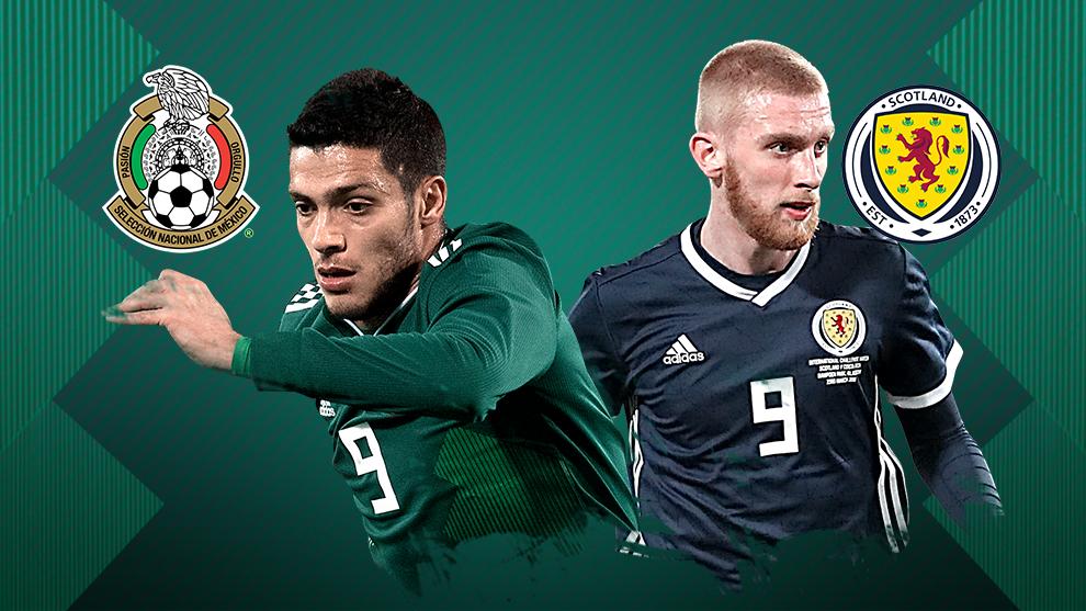 Mundial 2018 Rusia  México vs Escocia  Resultado y goles  b9e2a1fb5cc04