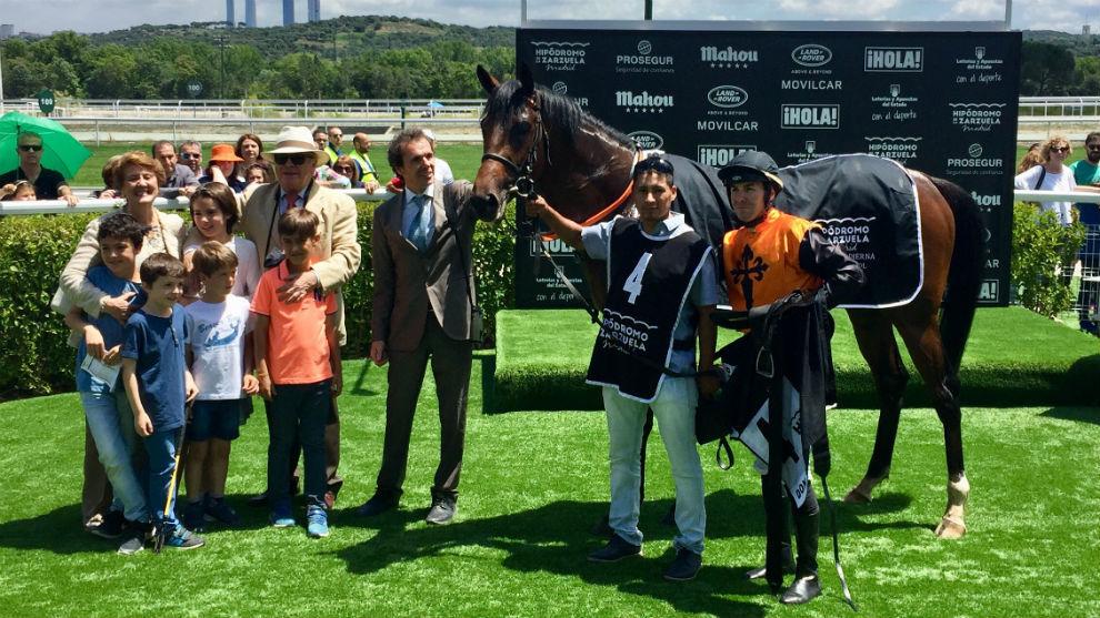 Don Sancho demostró su calidad en el Premio Villapadierna
