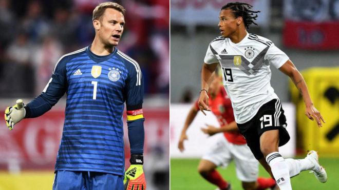 Con Neuer pero sin Sané