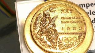 Imagen de una medalla de los Juegos de Barcelona 92