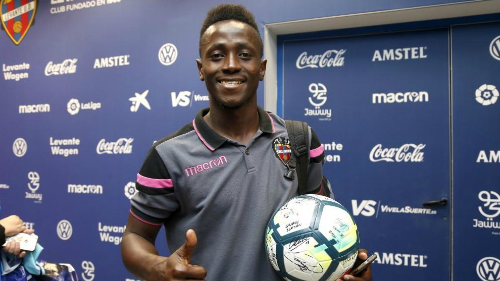 Emmanuel Boateng hopes to make the leap to a top team