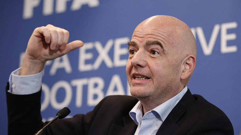 Infantino cagey over 48-team World Cup