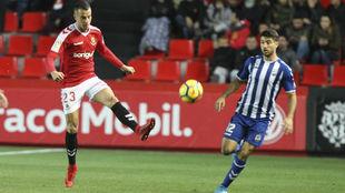 Sergio Tejera en un partido
