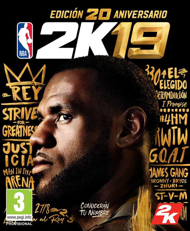LeBron James estará en la portada de NBA 2K19