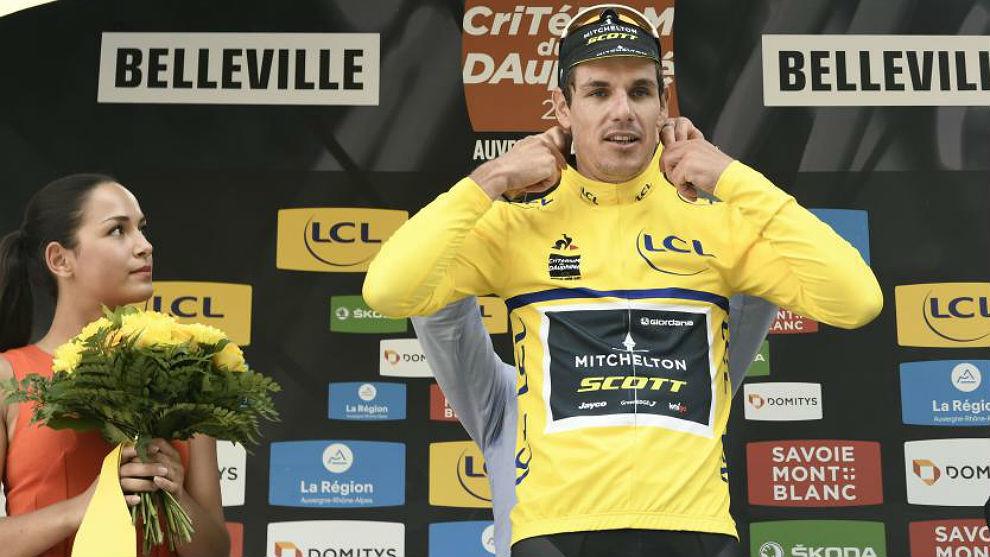 Daryl Impey, nuevo líder del Dauphiné tras la tercera etapa.
