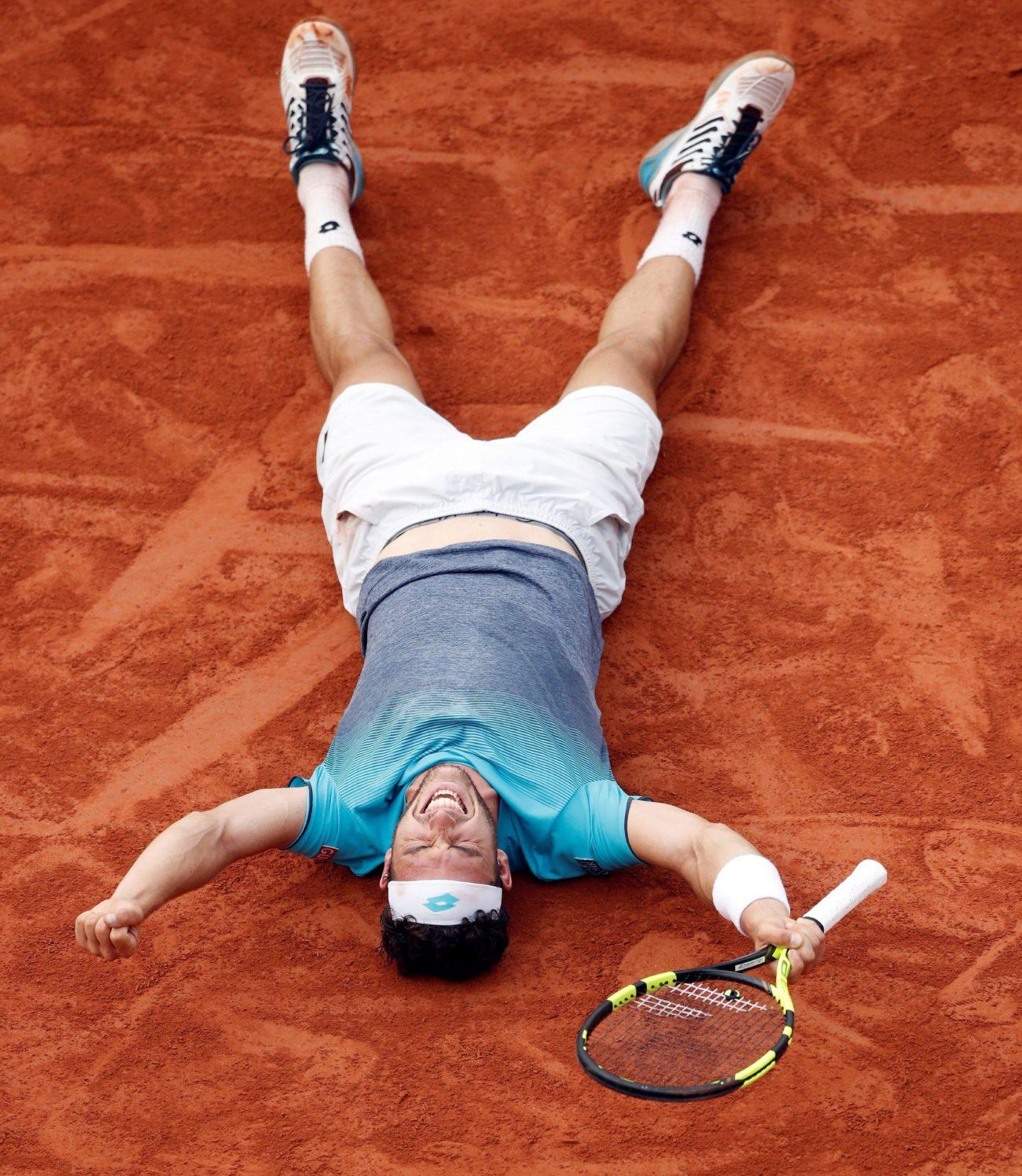 Las fotos más visuales y originales de la jornada en Roland Garros