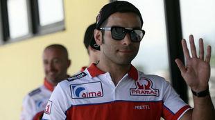 Petrucci, con Pramac Ducati.