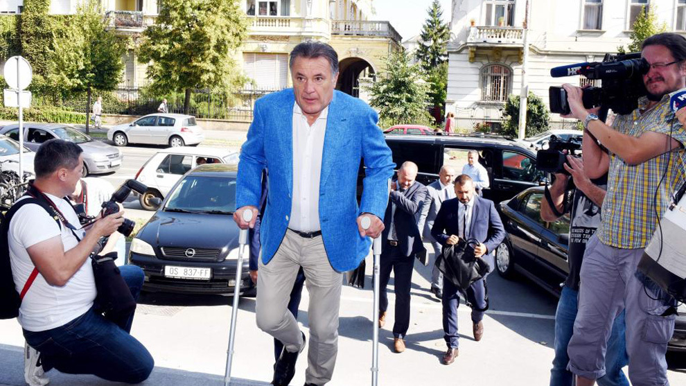 Croatian football boss jailed for corruption, Luka Modric charged with perjury