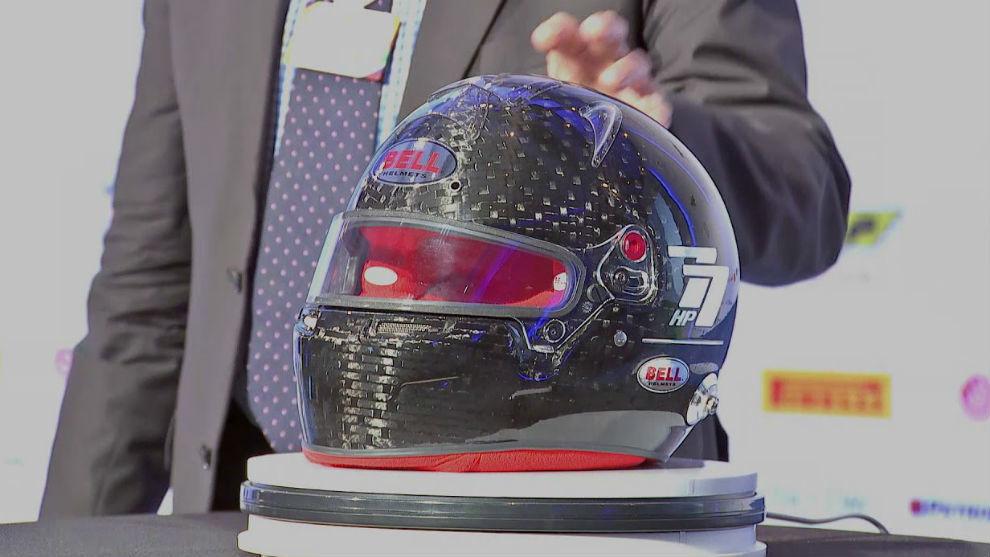 El nuevo casco de la FIA.