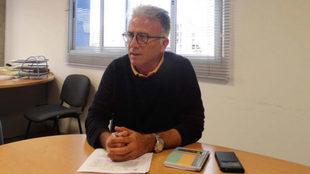 Manuel Rodríguez 'Tonono', Director de Cantera de la UD Las...