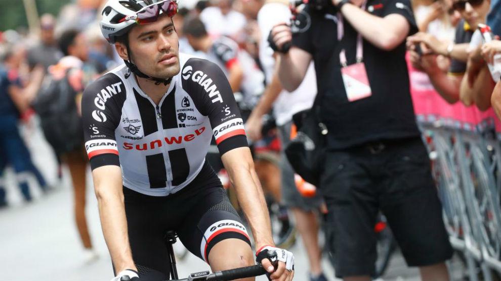 Tom Dumoulin durante el pasado Giro de Italia.