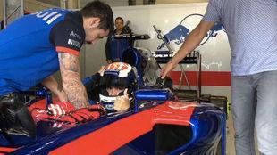 Pedrosa, sobre el Toro Rosso.