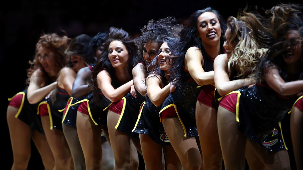 Las cheerleaders de los Cavaliers