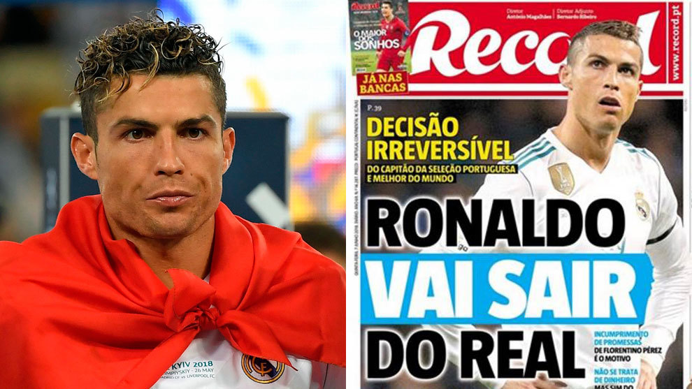 Ronaldo and the Record's cover.
