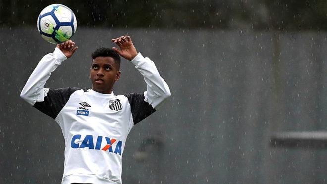 El Real Madrid firma a la nueva perla brasileña: Rodrygo