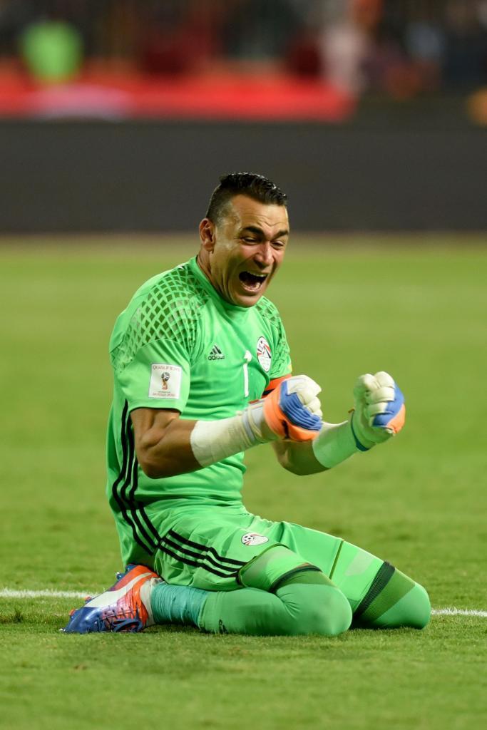Essam El Hadary (Egypt). 45