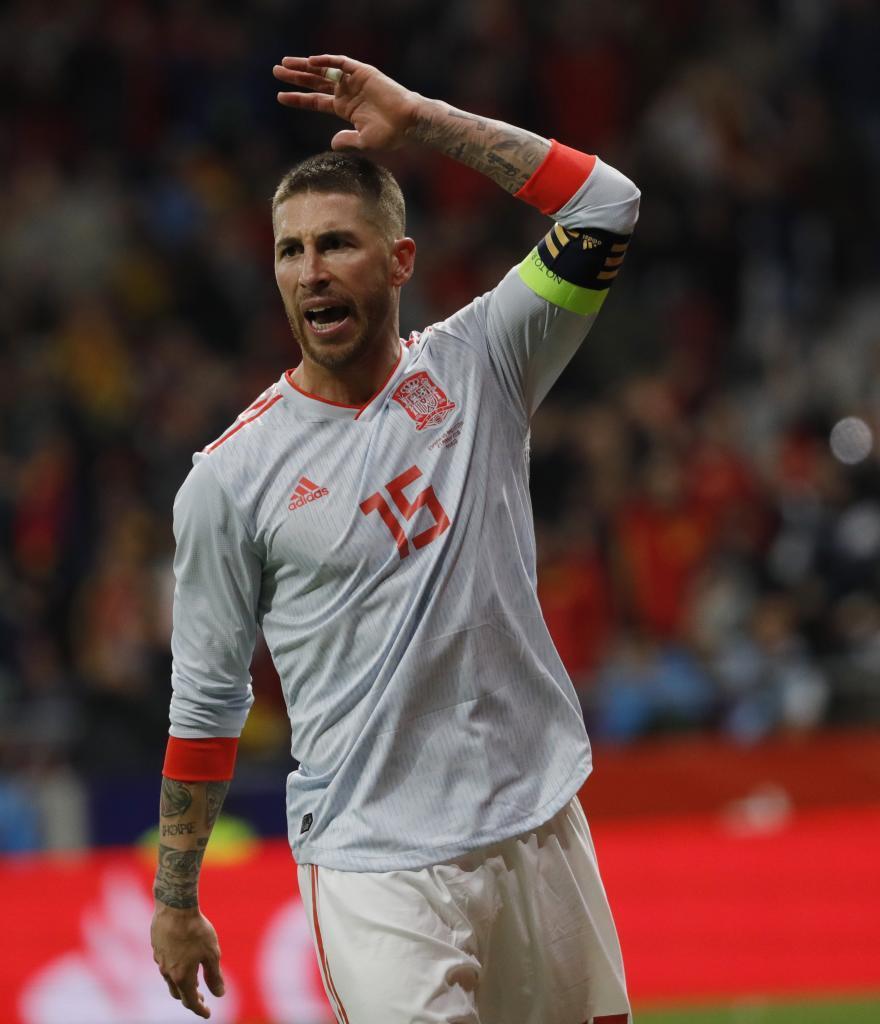 Sergio Ramos (Spain). 32