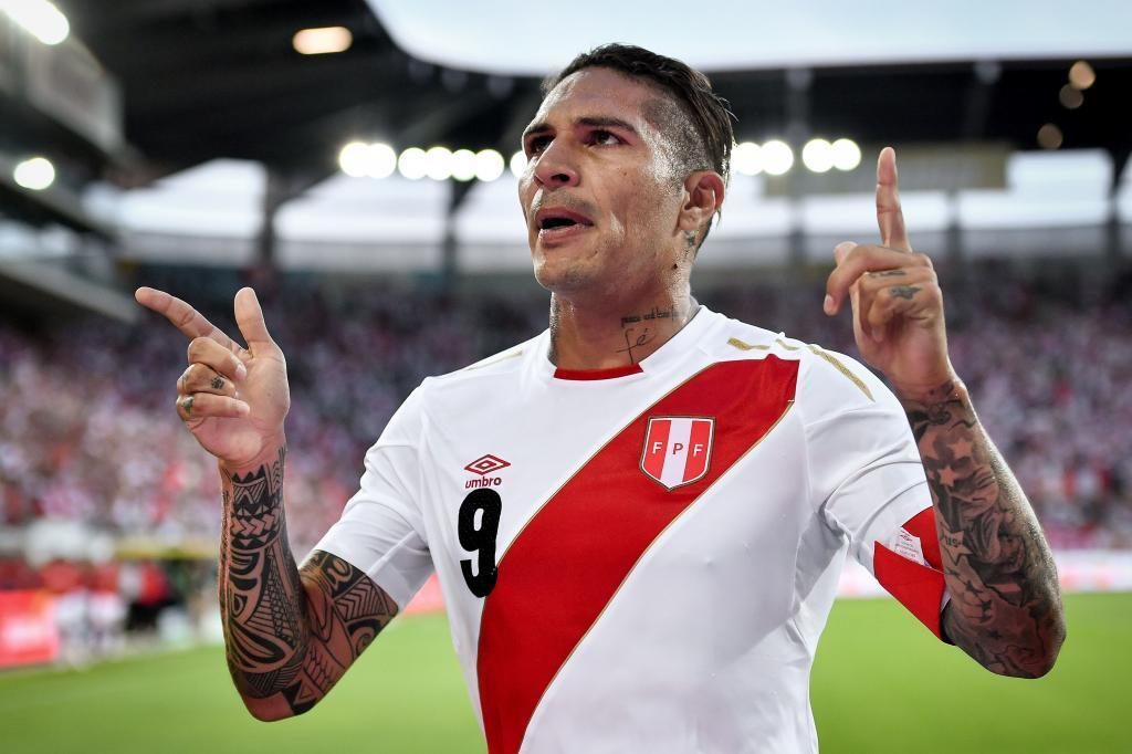 Paolo Guerrero (Peru). 34