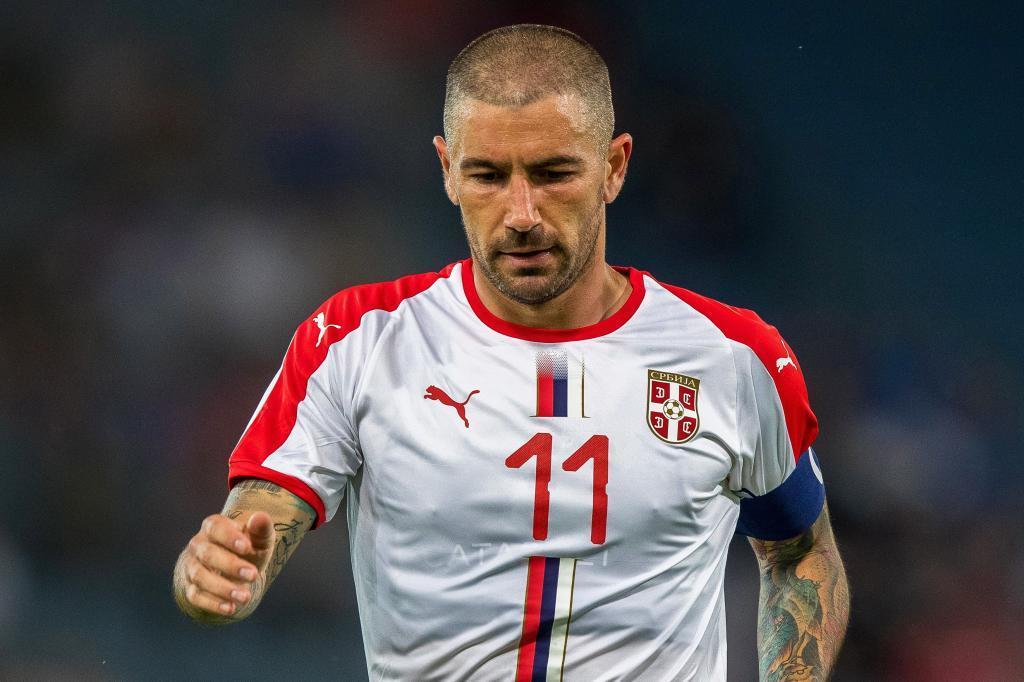 Aleksandar Kolarov (Serbia). 32
